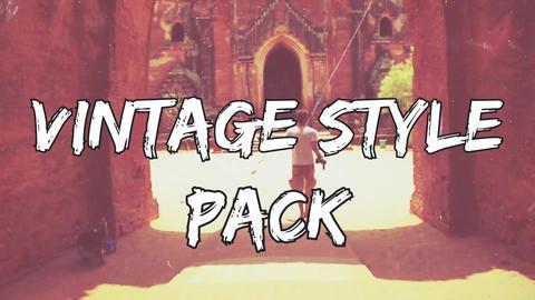 VINTAGE style pack Premiere Proテンプレート