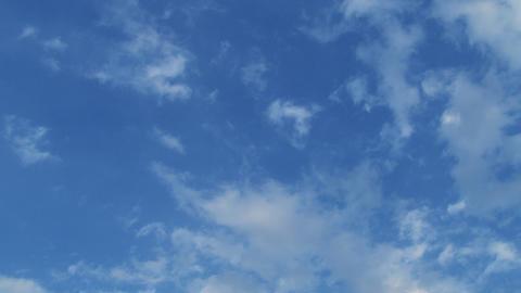 青空にふんわり浮かぶ白い雲 ライブ動画