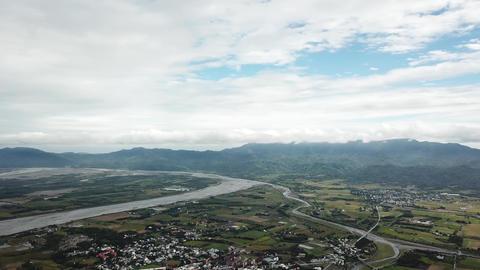 East Rift Valley plain in Hualien, Taiwan Archivo