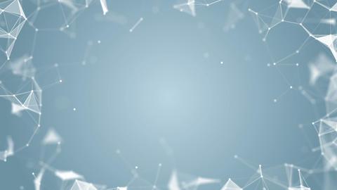 minimalistic plexus place. place for text. cinematic plexus background. seamless Footage