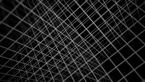 Grid Texture Backdrop Black Animation