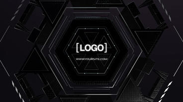 Logo machine reveal V1 After Effects Template
