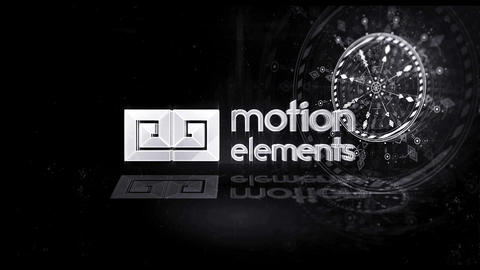 Sci Fi Stylish Logo After Effects Template