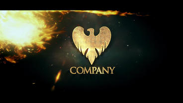 Fire Logo Reveals After Effects Template