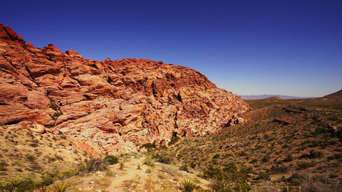 Red Rocks in the Nevada desert - LAS VEGAS, NEVADA/USA Live Action