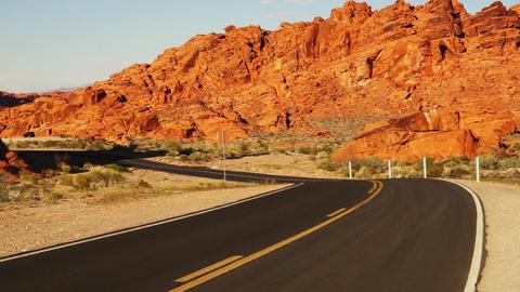 Wild wild west landscapes in Arizona - LAS VEGAS, NEVADA/USA Stock Video Footage