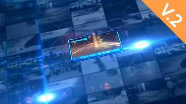 Digital Dynamic Wall (V.2) - After Effects Template After Effects Project