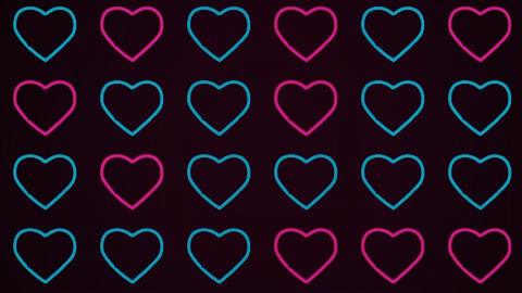 Valentine's Day Abstract Background GIF