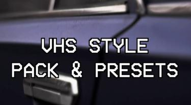 VHS Pack & Presets Premiere Proテンプレート