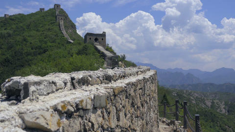 Detail of the rock walls of The Great Wall Live Action