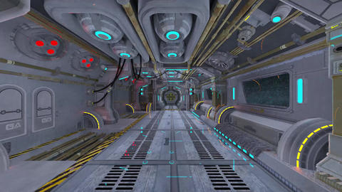 In the SpaceShip Animation