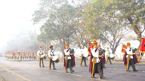 March past of India's armed forces ビデオ