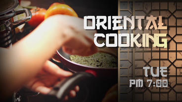 Oriental Broadcast Pack After Effectsテンプレート