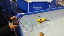 2018 drone show korea - underwater drone 01 Live Action