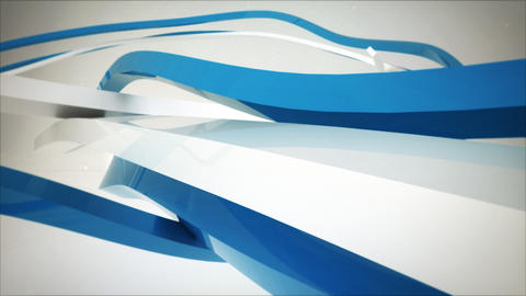 Stripes and Ribbons Logo Reveals After Effects Template