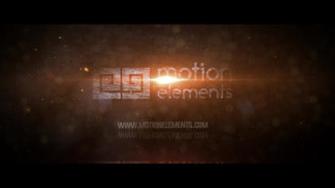 Elegant Fire Logo After Effects Template
