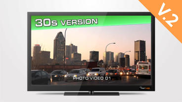 TV HD 30s Commercial (V.2) - After Effects Template After Effects Template