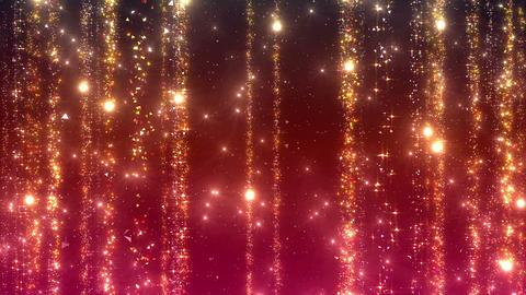 Particle Rain b L fix 1t gold 4 K Animation