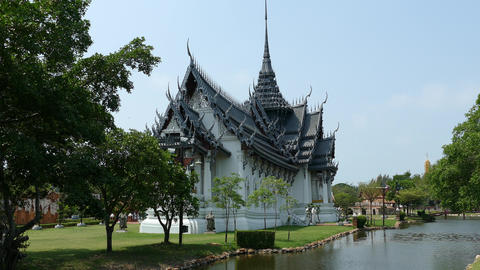 Sanphet Prasat Palace, Ayutthaya Footage