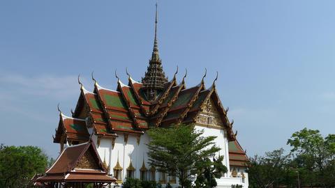 Dusit Maha Prasat Palace (The Grand Palace) Live Action