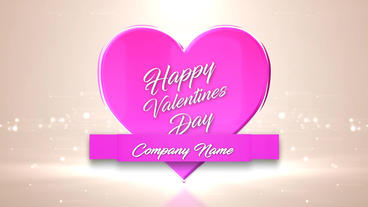 Logo Valentines 애프터 이펙트 템플릿