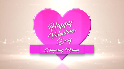 Logo Valentines After Effects Template