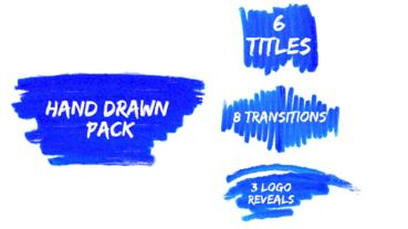 Hand Drawn Pack Premiere Pro Template