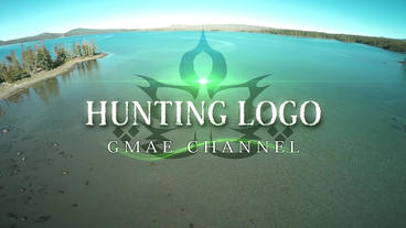 Hunting logo Plantilla de After Effects