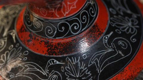 Painted ceramics Footage