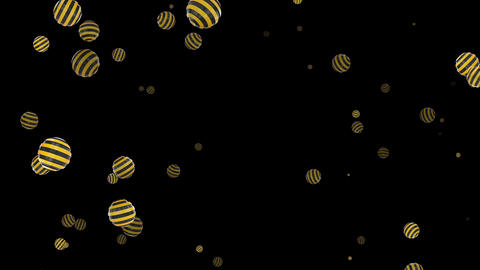 Spherical background CG VJ stripe Animation