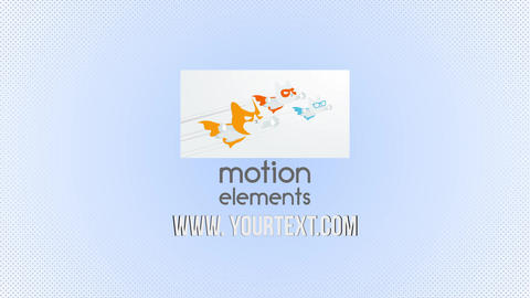 Partical logo animation 2 After Effects Template