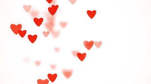 Valentine's day greeting video card Animation