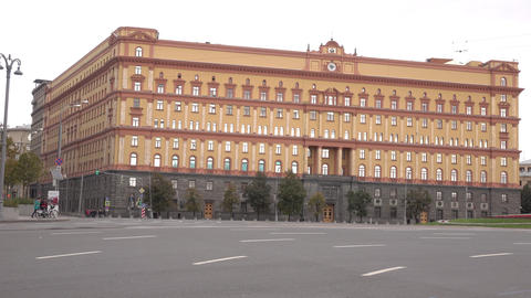 Russian Federal security service FSS or FSB, former Soviet KGB, headquarters in Live Action