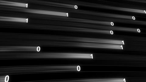 Digital technology high speed internet concept seamless loop Animation
