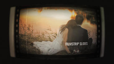 Filmstrip Slides After Effects Template