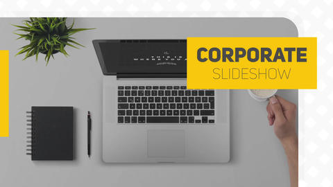 Simple Corporate Slideshow After Effects Template