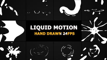 Liquid Motion Elements And Transitions After Effectsテンプレート