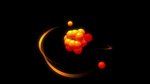 Atomic structure animation Animation
