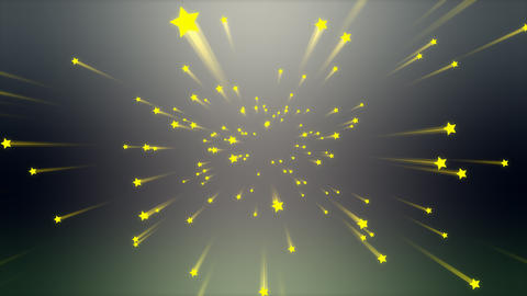 Background animation, Shooting star Animation