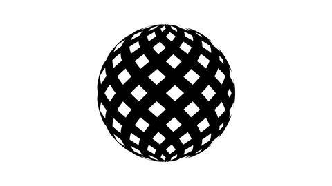 Beat Sphere 4K 04 Vj Loop Animation