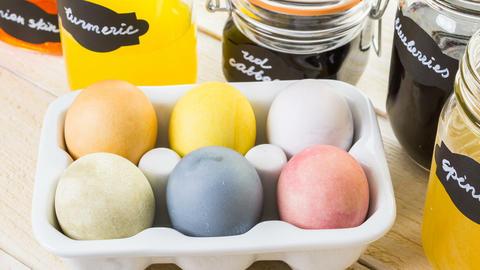 Easter eggs Footage