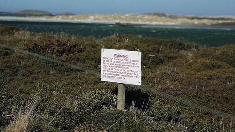 Falklands Landmines Suspect Area Live Action