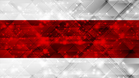Red and grey shiny abstract sparkling video animation Animation