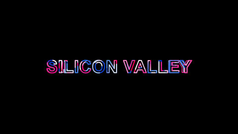 Letters are collected in common expression SILICON VALLEY, then scattered into Animation