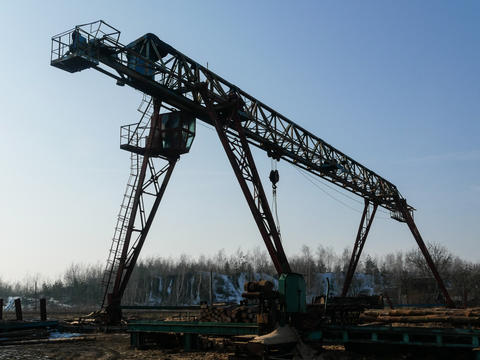 Sawmill industrial machine Fotografía