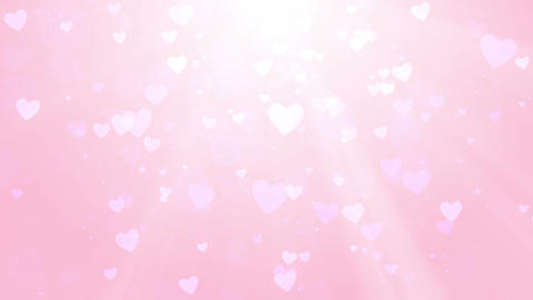 Heart background, Valentine and wedding theme, looped Animation