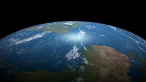 Earth Orbit Animation
