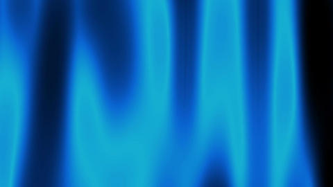 blue curtain Stock Video Footage