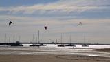 kitesurfing practice Footage