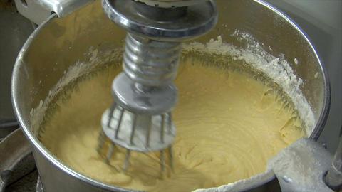 german bakery pastry mixer loop 10770 Stock Video Footage